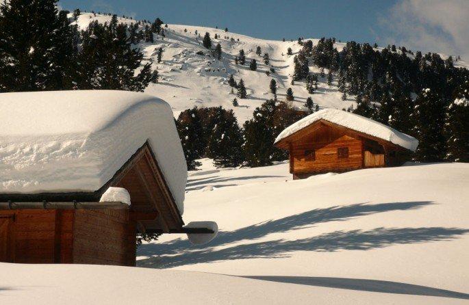 Inverno in alpeggio