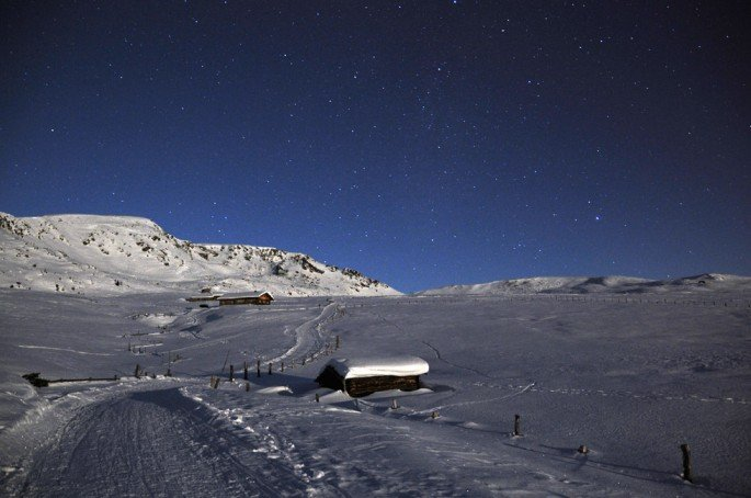 Langlaufen und Skitouren auf der Villanderer Alm