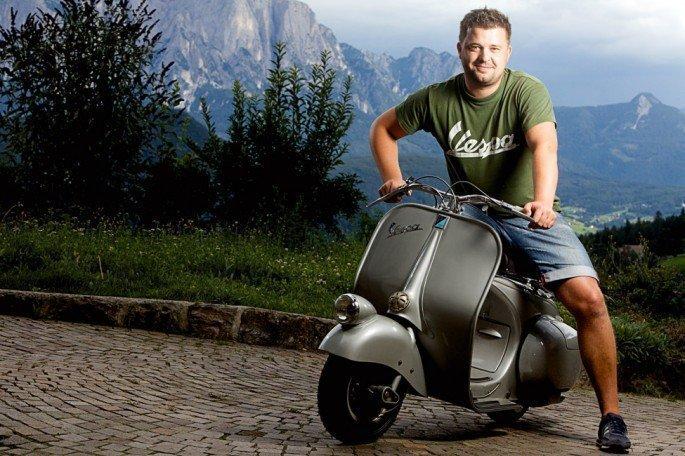 Fortbewegungsart in Italien: die Vespa!