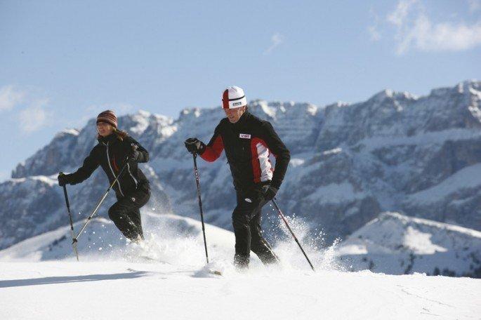 Escursioni invernali e ciaspolate sull'Alpe di Villandro